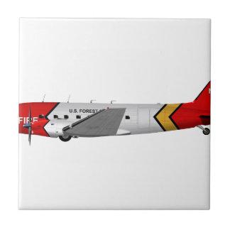 Basler Turbo-67 (DC-3 Conversion) 344344 Ceramic Tiles