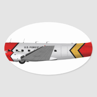 Basler Turbo-67 (DC-3 Conversion) Oval Stickers