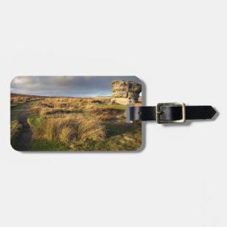 Baslow Edge in Derbyshire souvenir photo Bag Tag