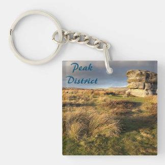 Baslow Edge in Derbyshire souvenir photo Keychain