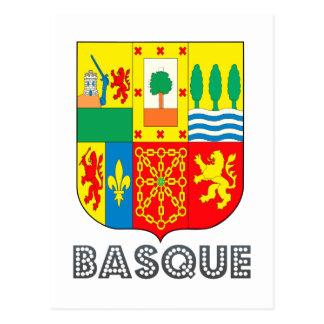 Basquan Emblem Postcard