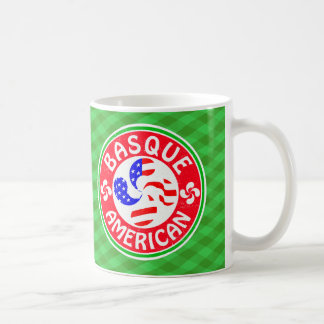 Basque American Euskara Lauburu Cross Coffee Mug