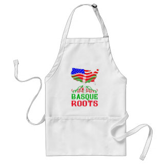 Basque American Roots Adult Apron