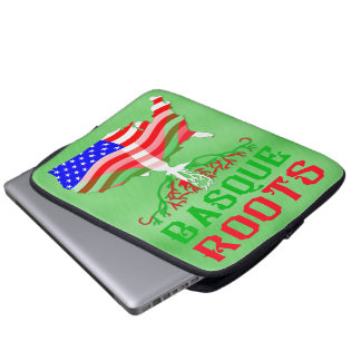 Basque American Roots Computer Sleeve