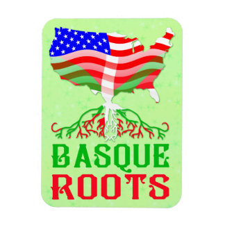 Basque American Roots Magnet
