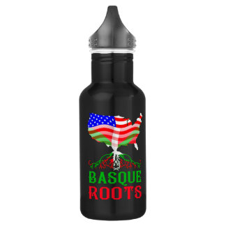 Basque American Roots Water Bottle