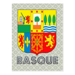 Basque Coat of Arms Postcard