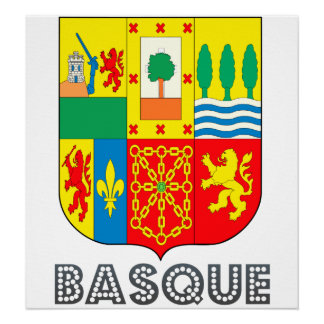 Basque Coat of Arms Print