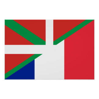 Basque Country And France, Hungary Print