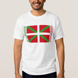 Basque Country and ikurriña, T Shirt