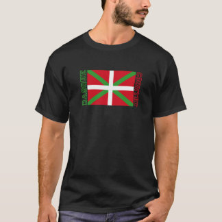Basque Country and ikurriña, T-Shirt