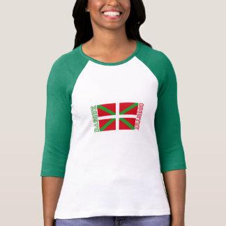 Basque Country and ikurriña, Tee Shirts