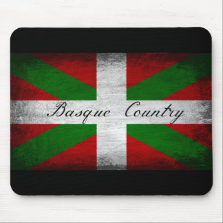 Basque Country Distressed Flag Mousepad