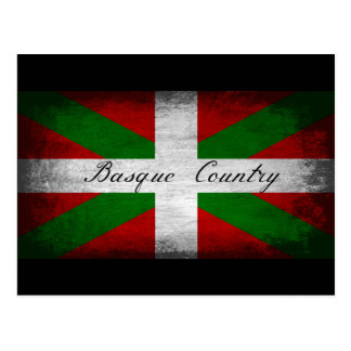 Basque Country Distressed Flag Post Cards