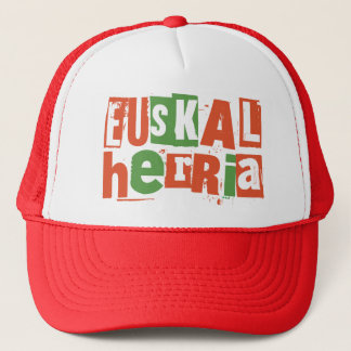 basque country trucker hat