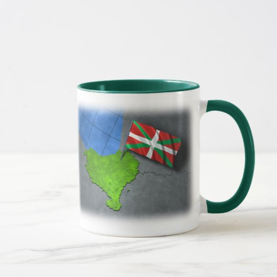 Basque country with its own flag mug