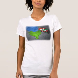Basque country with its own flag shirt