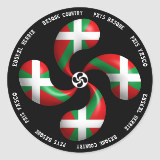 Basque Cross Sticker