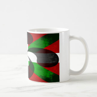 Basque Flag and Cross Coffee Mug