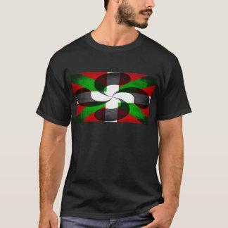Basque Flag and Cross T-Shirt