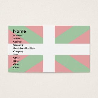 Basque Flag Business Card