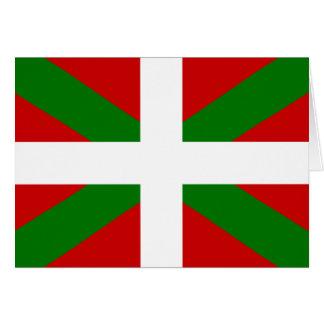 Basque Flag Card