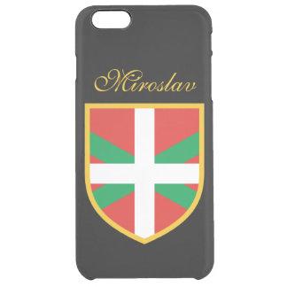 Basque Flag Clear iPhone 6 Plus Case