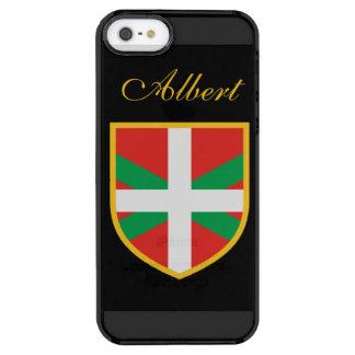 Basque Flag Clear iPhone SE/5/5s Case
