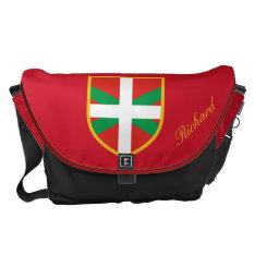 Basque Flag Courier Bag at Zazzle