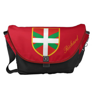 Basque Flag Courier Bag