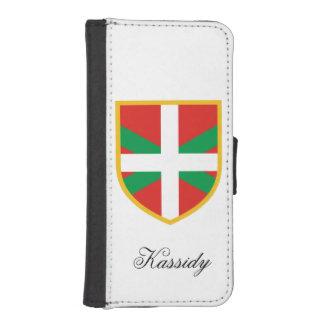 Basque Flag iPhone SE/5/5s Wallet Case