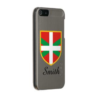 Basque Flag Metallic iPhone SE/5/5s Case