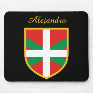 Basque Flag Mouse Pad
