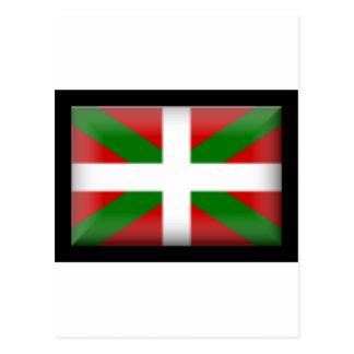 Basque Flag   País Vasco Postcard
