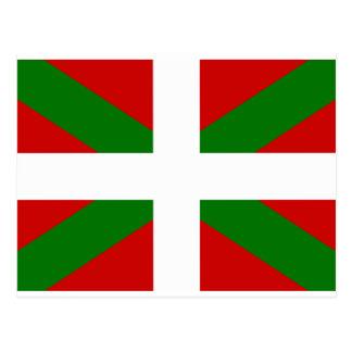 Basque Flag Postcard