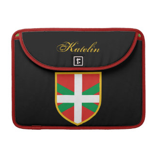 Basque Flag Sleeve For MacBook Pro