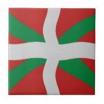 Basque flag tiles