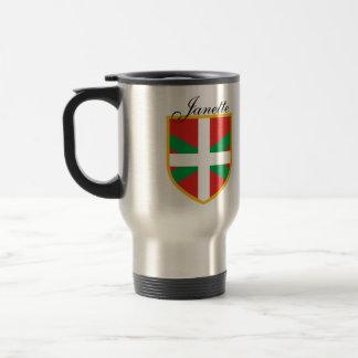 Basque Flag Travel Mug