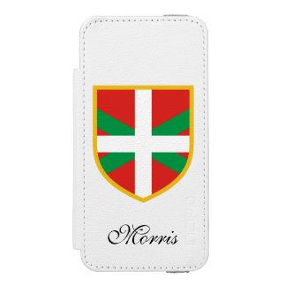 Basque Flag Wallet Case For iPhone SE/5/5s