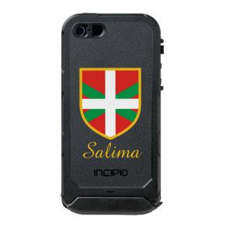 Basque Flag Waterproof iPhone SE/5/5s Case