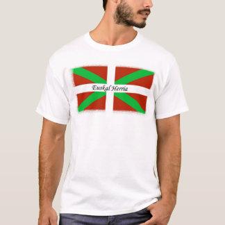 Basque Flag With Euskal Herria Shirt