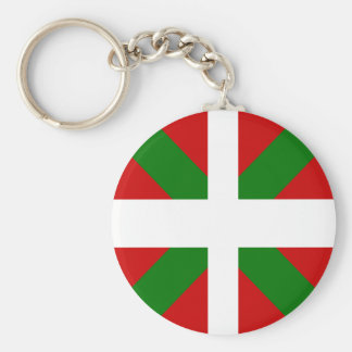 Basque High quality Flag Keychain