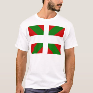 Basque High quality Flag T-Shirt