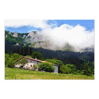 basque house in Aramaio Photo