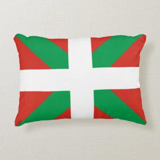Basque Pais Vasco Flag Accent Pillow