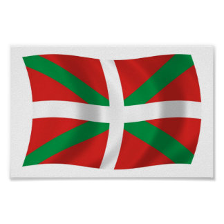 Basque People Flag Poster Print