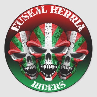 Basque Rider Sticker