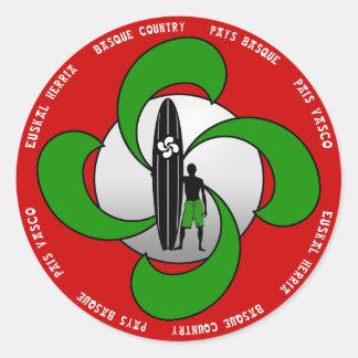 Basque Surfing Sticker