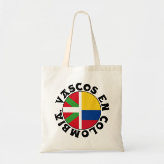 Basques in Colombia logo, Tote Bag