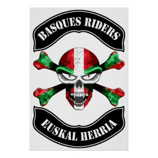 Basques Riders Print
